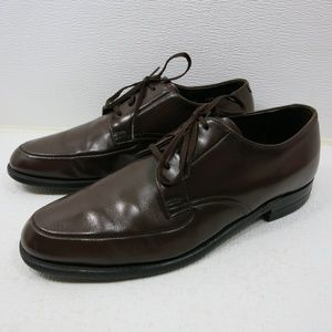 Leather Classics Brown Dress Fashion Oxfords 9.5